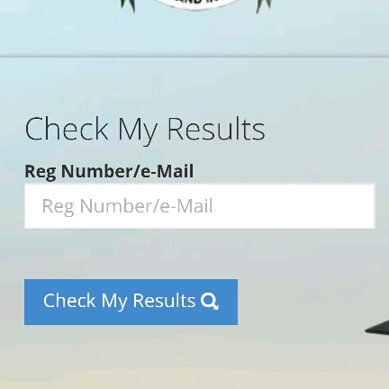 JAMB result checker page