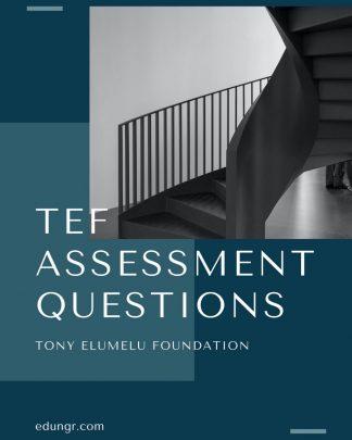 TEF assessment questions (PDF)