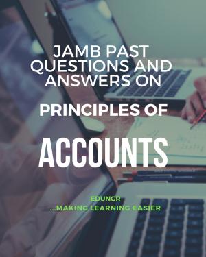 JAMB accounts past questions