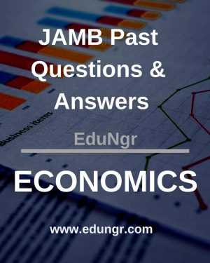 JAMB Economics past questions