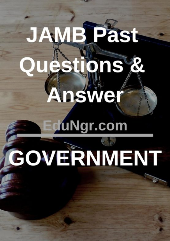 JAMB government past questions