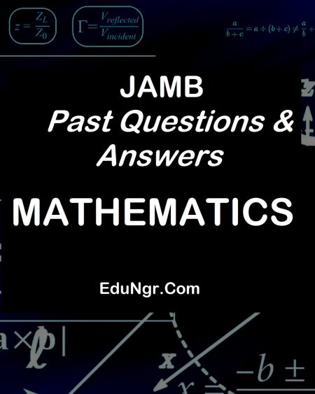 JAMB mathematics past questions