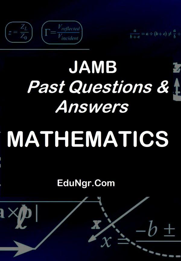 JAMB mathematics past questions