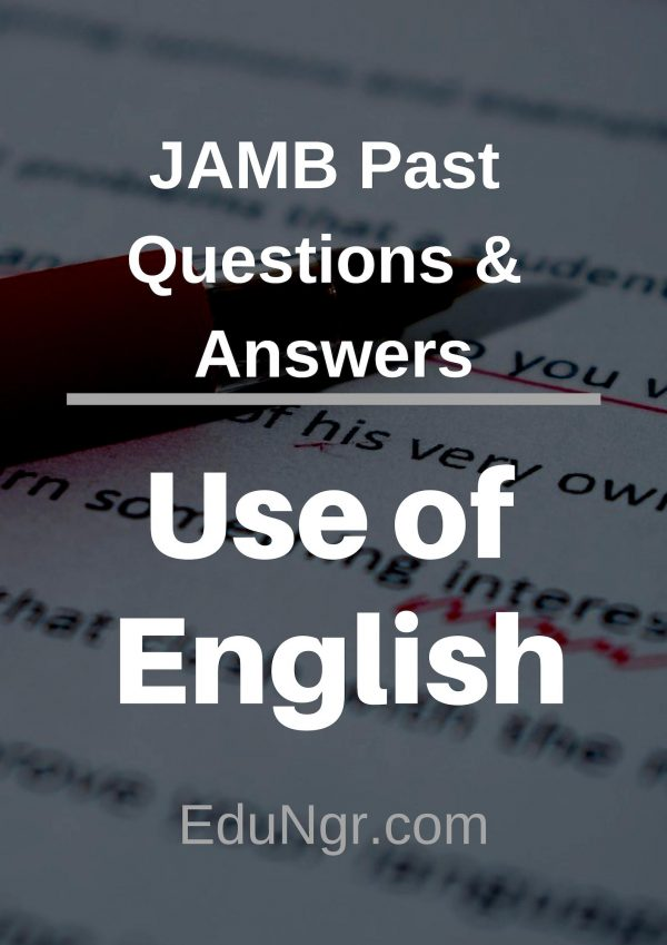 JAMB use of English past questions