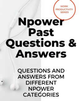 Book cover NPower past questions